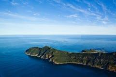 Tiro aéreo do ponto do cabo África do Sul imagens de stock royalty free