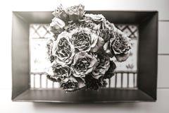 Tiro aéreo do ramalhete bonito das flores imagens de stock royalty free