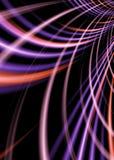 Tiro al neon Fotografie Stock
