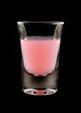 Tiro alcohólico rosado Foto de archivo libre de regalías