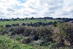 Tiro Alfreton del paisaje en Derbyshire Foto de archivo