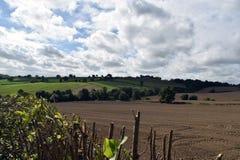 Tiro Alfreton del paisaje en Derbyshire Imágenes de archivo libres de regalías