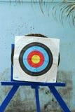 Tiro all'arco dell'obiettivo Fotografia Stock Libera da Diritti