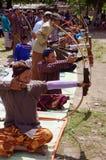 Tiro all'arco tradizionale Immagini Stock Libere da Diritti