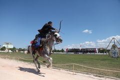 Tiro ao arco tradicional do otomano Imagem de Stock Royalty Free