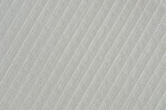 Tiro ascendente próximo toalha branca da tela da única fotografia de stock