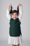 Tiro asiático del estudio de las muchachas Foto de archivo libre de regalías