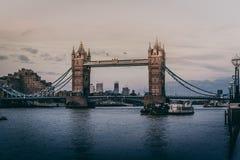 Tiro bonito da ponte da torre em Londres imagem de stock royalty free