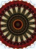 Tiro chinês da lâmpada no estilo do caleidoscópio Fotografia de Stock