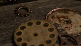 Tiro común giratorio de la cantidad de las caras antiguas y resistidas del reloj
