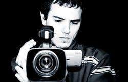 Tiro com câmera Fotografia de Stock