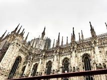 Tiro da abóbada de Milão fotografia de stock royalty free