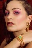 Tiro da beleza Imagem de Stock Royalty Free