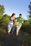 Tiro da bicicleta imagens de stock royalty free