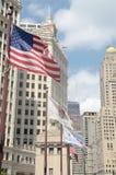Tiro da cidade de Chicago Imagens de Stock Royalty Free