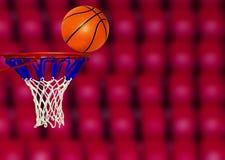 Tiro da contagem de basquetebol Imagens de Stock