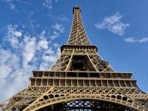 Tiro da excursão Eiffel foto de stock