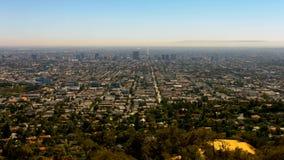 Tiro de abertura Los Ángeles almacen de video