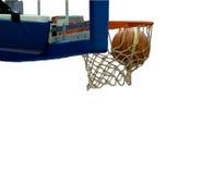 Tiro de baloncesto Fotografía de archivo
