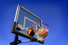 Tiro de basquetebol Fotografia de Stock