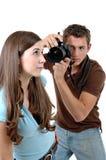 Tiro de foto Imagens de Stock Royalty Free