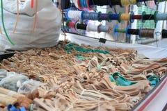 Tiro de honda - tiras de goma, fotografía de archivo