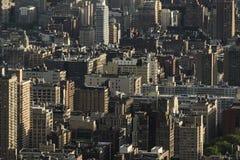 Tiro de la antena de Nueva York Foto de archivo