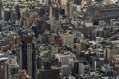 Tiro de la antena de Nueva York Imágenes de archivo libres de regalías