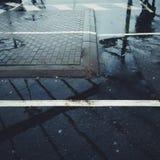 Tiro de la calle Imagen de archivo libre de regalías