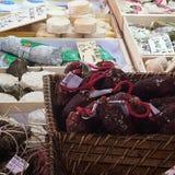 Tiro de la comida del mercado fotografía de archivo