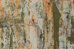 Tiro de la foto del fondo de la textura de Rusty Metal Pilling Paint Surface imagen de archivo libre de regalías