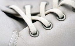 Tiro de la macro del zapato foto de archivo