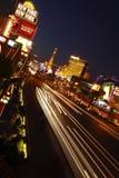 Tiro de la noche de los E.E.U.U. de la tira de Las Vegas fotografía de archivo libre de regalías