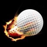 Tiro de la pelota de golf Fotos de archivo libres de regalías