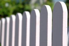 Tiro de madeira do close up da cerca Imagens de Stock