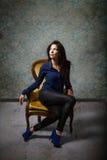 Tiro de moda modelo tunecino fotos de archivo