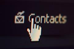 Tiro de pantalla Foto de archivo libre de regalías