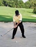 Tiro de Sandtrap Fotos de archivo