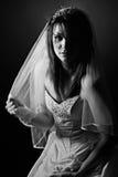 Tiro de una novia adolescente del trastorno Foto de archivo