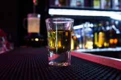 Tiro del alcohol imágenes de archivo libres de regalías