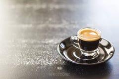 tiro del café Imágenes de archivo libres de regalías