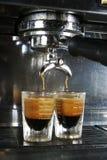 Tiro del café express Foto de archivo libre de regalías