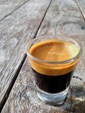 Tiro del café express Fotos de archivo