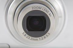 Tiro del frente de la lente de cámara Fotos de archivo libres de regalías