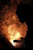 Tiro del fuoco Immagini Stock