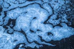 Tiro del primer del hielo Imagen de archivo libre de regalías
