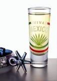 Tiro del Tequila Imagen de archivo libre de regalías