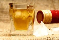 Tiro del whisky Imagen de archivo libre de regalías