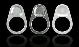 tiro dell'anello 3D delle latte Immagine Stock