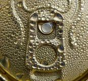 Tiro dell'anello della latta di birra Fotografia Stock Libera da Diritti